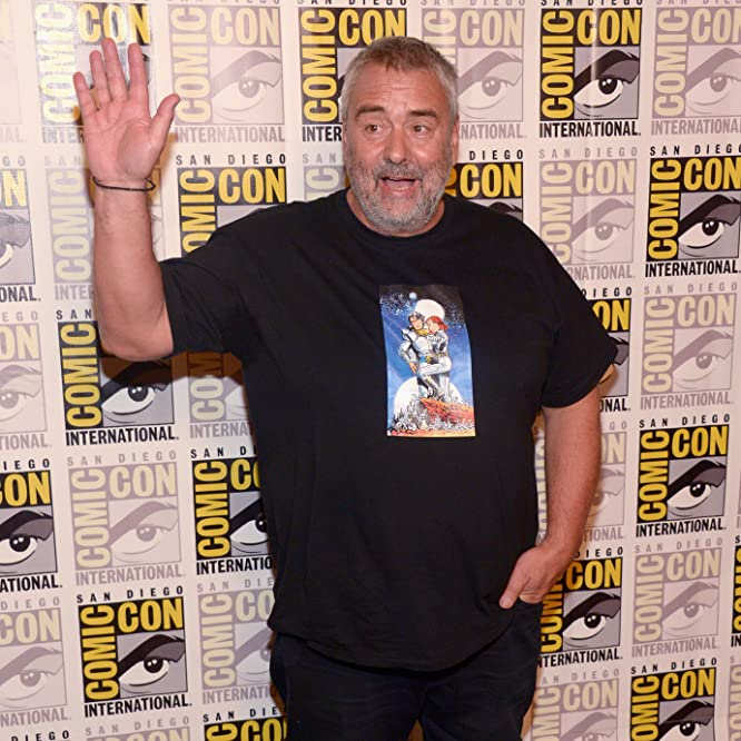 Luc Besson at an event for Valerian and the City of a Thousand Planets (2017)