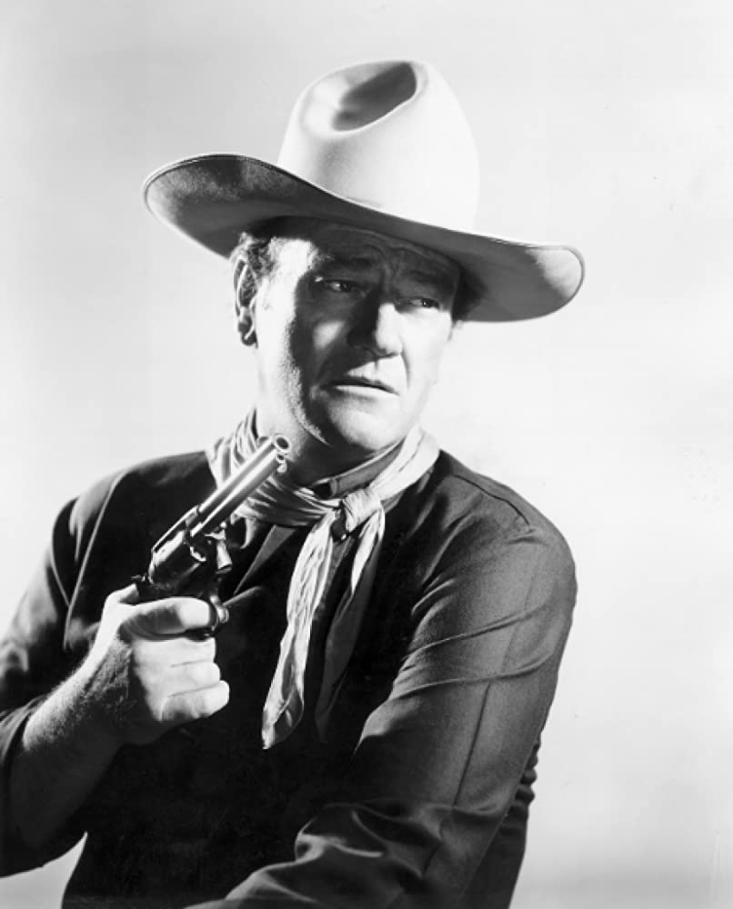 John Wayne in The Man Who Shot Liberty Valance (1962)