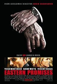 Viggo Mortensen and Naomi Watts in Eastern Promises (2007)