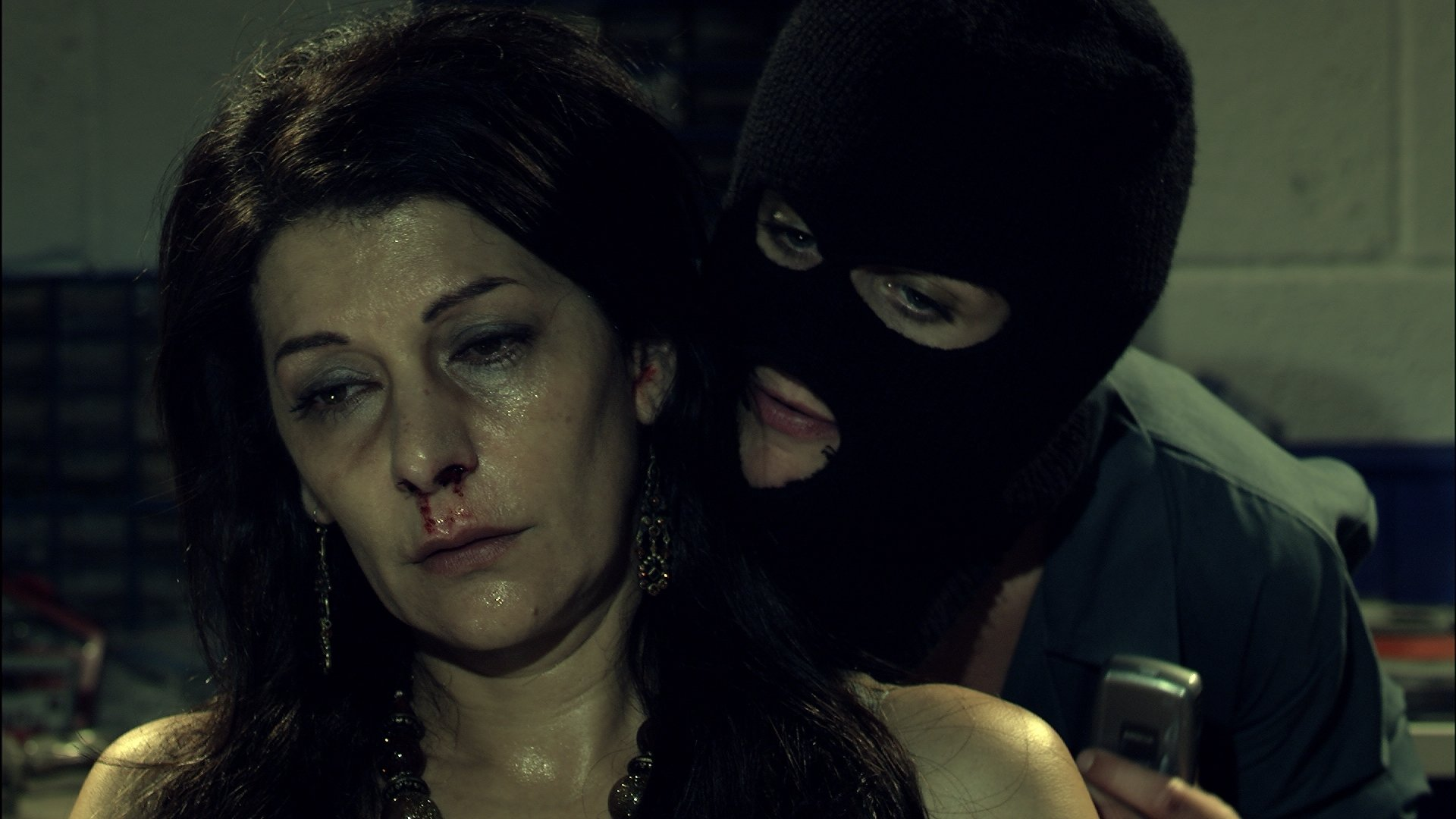 Marina Sirtis and Heather Peace in 31 North 62 East (2009)