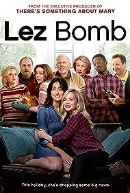 Bruce Dern, Cloris Leachman, Kevin Pollak, Elaine Hendrix, Jenna Laurenzo, and Caitlin Mehner in Lez Bomb (2018)