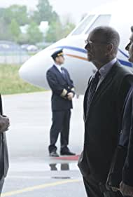 Eric Close, John Finn, and Gabriel Macht in Suits (2011)