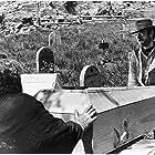 Clint Eastwood and José Calvo in Per un pugno di dollari (1964)