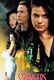 Linda Fiorentino, Timothy Hutton, and Joan Chen in Strangers (1992)