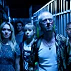 Noel Clarke, Ned Dennehy, Colin O'Donoghue, Antonia Campbell-Hughes, and Laura Haddock in Storage 24 (2012)
