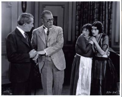 Lon Chaney, Marceline Day, Polly Moran, and Henry B. Walthall in London After Midnight (1927)