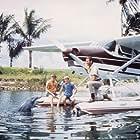 Luke Halpin, Brian Kelly, and Tommy Norden in Flipper (1964)