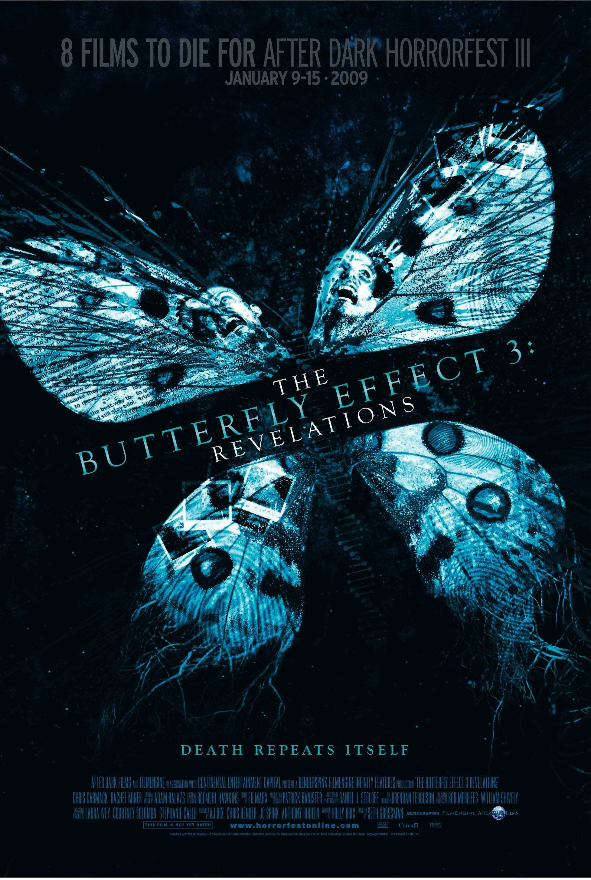 DRUGIO EFEKTAS 3 (2009) / THE BUTTERFLY EFFECT 3: REVELATIONS