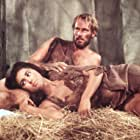 Charlton Heston and Linda Harrison in Planet of the Apes (1968)