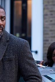Idris Elba and Wunmi Mosaku in Luther (2010)