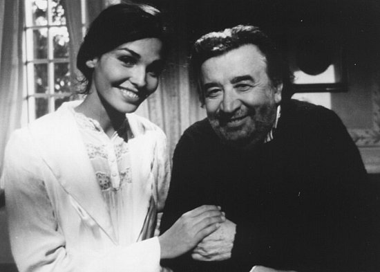 Pupi Avati and Inés Sastre in Il testimone dello sposo (1997)