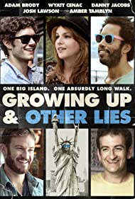 Adam Brody, Josh Lawson, Amber Tamblyn, Danny Jacobs, and Wyatt Cenac in Growing Up and Other Lies (2014)