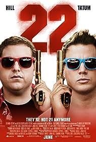 Channing Tatum and Jonah Hill in 22 Jump Street (2014)