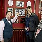 Hugh Sachs, Chris O'Dowd, and Tom Bennett in Family Tree (2013)