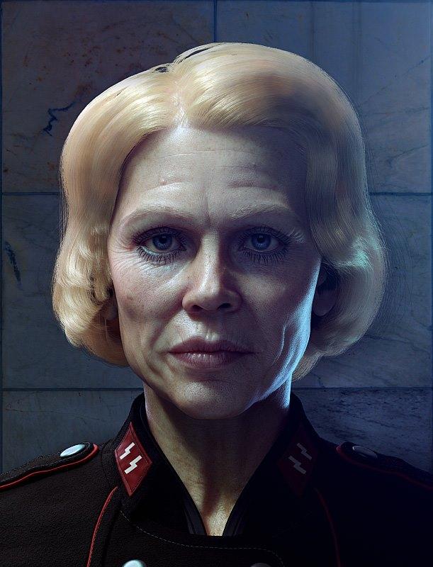Wolfenstein: The New Order Motion Capture Performance as Antagonist Frau Engel