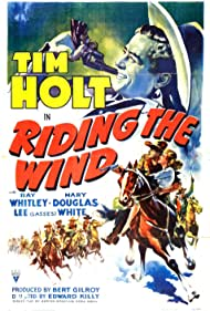 Joan Barclay and Tim Holt in Riding the Wind (1942)