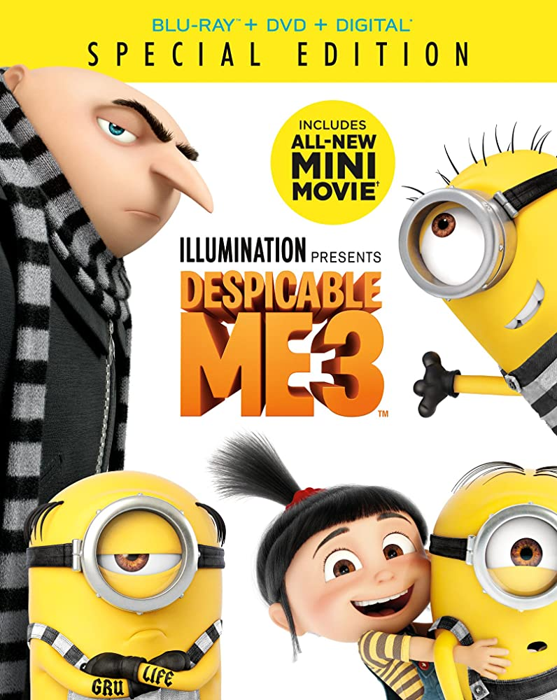 Despicable Me 3 (2017) Hindi Dubbed