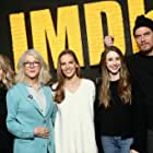 Blythe Danner, Hilary Swank, Michael Shannon, Elizabeth Chomko, and Taissa Farmiga at an event for What They Had (2018)