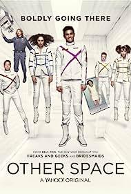 Trace Beaulieu, Joel Hodgson, Bess Rous, Milana Vayntrub, Neil Casey, Eugene Cordero, Conor Leslie, and Karan Soni in Other Space (2015)