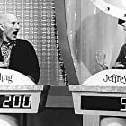 """Sterling and Jeffrey (Patrick Stewart, left and Steven Weber) are contestants on the fantasy game show """"It's Just Sex."""""""
