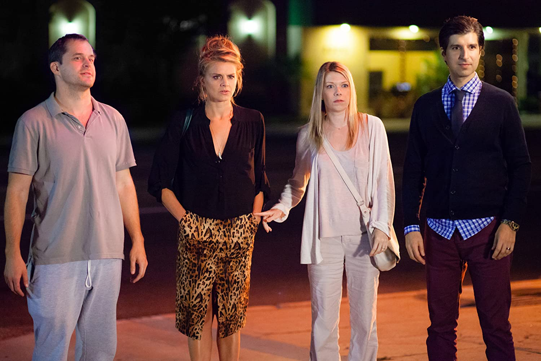 Demetri Martin, Kyle Bornheimer, Mary Elizabeth Ellis, dan Eliza Coupe dalam The Last Time You Had Fun (2014)
