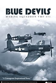 Blue Devils: Marine Aviation Squadron VMF-451 Poster