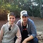 Teo Halm and James Franco