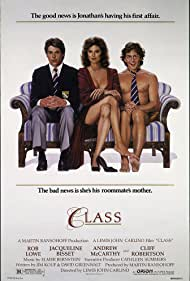 Jacqueline Bisset, Rob Lowe, and Andrew McCarthy in Class (1983)
