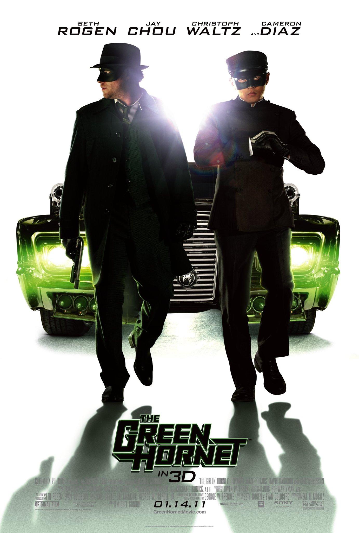 The Green Hornet (2011) BluRay 720p & 1080p