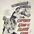 Eva Gabor and Anthony Dexter in Captain Kidd and the Slave Girl (1954)
