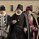 Jason Isaacs, Xabier Elorriaga, Fabio Testi, and Juanjo Puigcorbé in La conjura de El Escorial (2008)