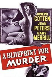A Blueprint for Murder Poster