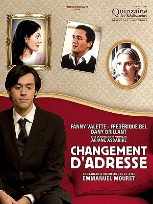 Change of Address Poster