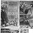 Yakima Canutt, Ray Corrigan, Robert Livingston, J.P. McGowan, and Max Terhune in Heart of the Rockies (1937)