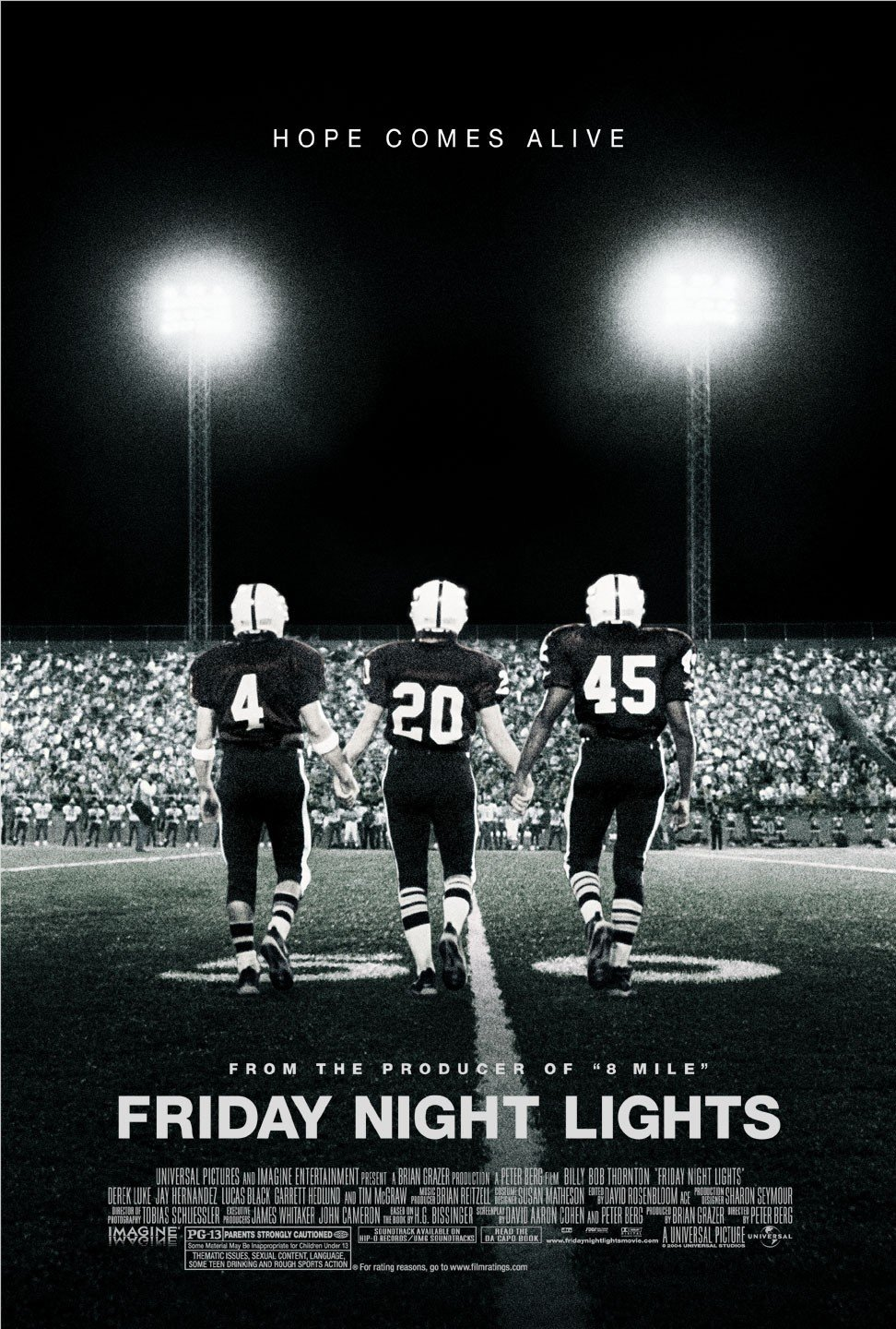 Penktadienio vakaro žiburiai / Friday Night Lights (2004) Online