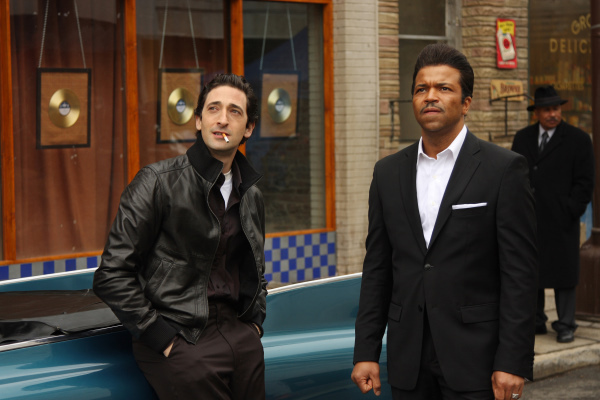 Adrien Brody and Jeffrey Wright in Cadillac Records (2008)