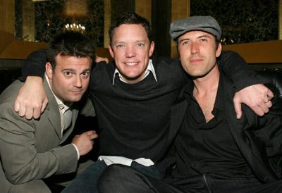 Matthew Lillard, John J. Hermansen, and Mars Callahan at an event for What Love Is (2007)