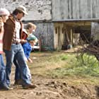 Mark Wahlberg, Rose McIver, Saoirse Ronan, and Christian Ashdale in The Lovely Bones (2009)