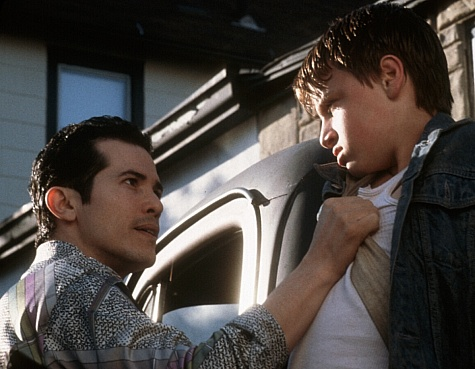 John Leguizamo and Noah Fleiss in Joe the King (1999)