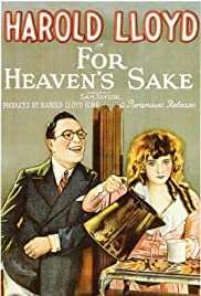 For Heaven's Sake Poster