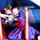Thomas Brodie-Sangster and Eliza Bennett in Nanny McPhee (2005)