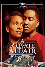 A Private Affair Poster
