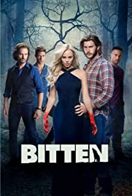 Greg Bryk, Laura Vandervoort, Greyston Holt, Michael Xavier, and Steve Lund in Bitten (2014)
