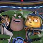 Rosario Dawson, James Arnold Taylor, and Jim Ward in Ratchet & Clank (2016)