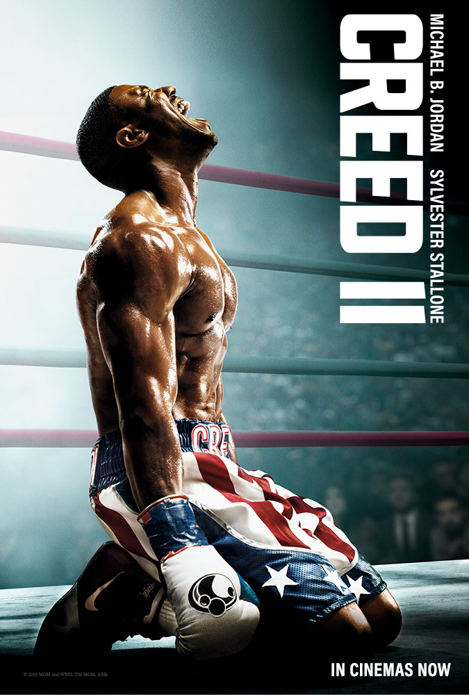 Creed II (2018) English 300MB HDCAM-Rip 480p x264