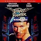 Jean-Claude Van Damme and Raul Julia in Street Fighter (1994)