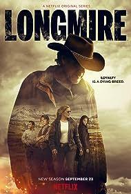 Lou Diamond Phillips, Katee Sackhoff, Robert Taylor, Cassidy Freeman, Adam Bartley, and Julian Wondolowski in Longmire (2012)