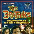 Peter Breck, Karen Kadler, and Tony Travis in The Beatniks (1960)