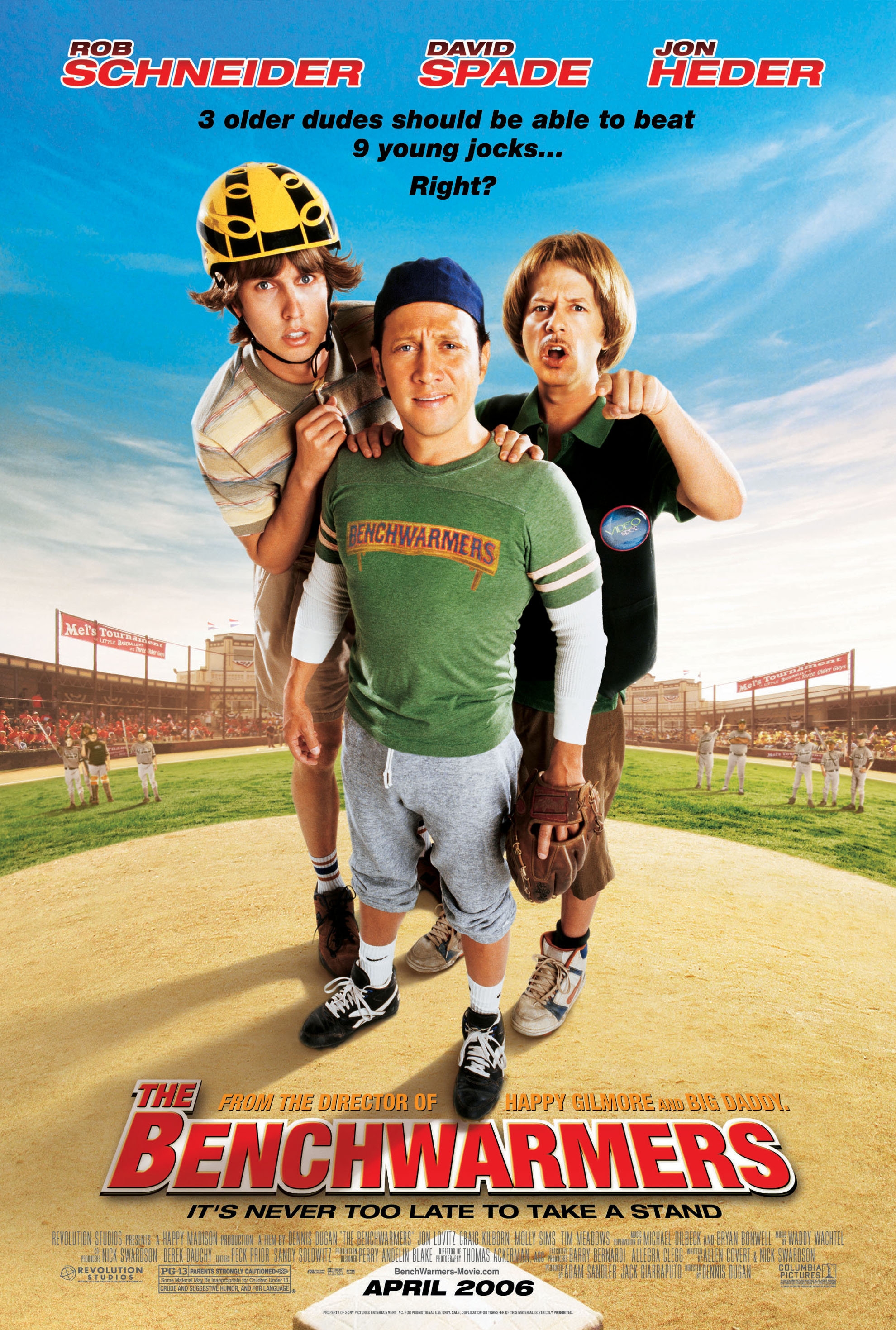 benchwarmers cast