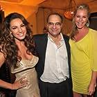 Rebecca Romijn, Kelly Brook, and Bob Weinstein at an event for Piranha 3D (2010)